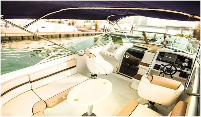 Details of the yacht